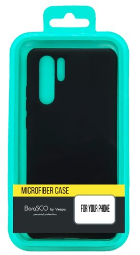 Чехол-накладка для Samsung (M115/ A115) Galaxy M11/ A11 черный, Microfiber Case, Borasco фото