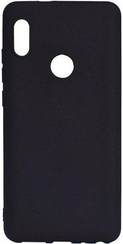 Чехол для смартфона Xiaomi Redmi 7 силиконовый черный, BoraSCO фото