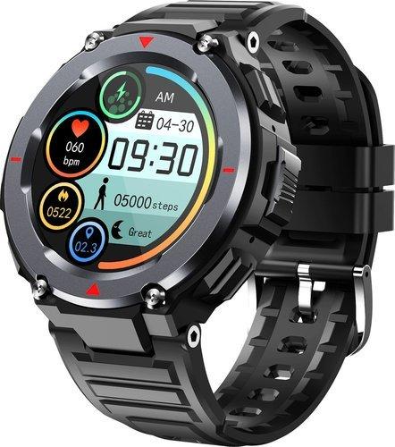 Умные часы Bakeey S25, черный фото