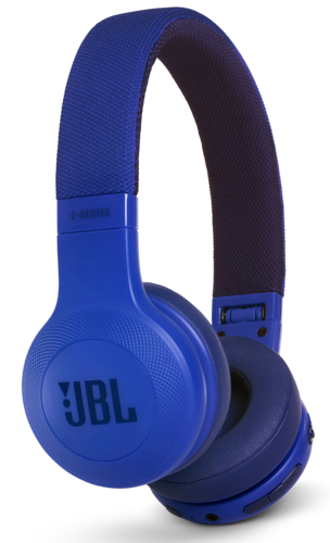 Наушники JBL E45BT, синий фото