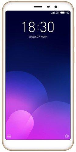 Смартфон Meizu M6T 2/16GB Золотистый Global Version фото