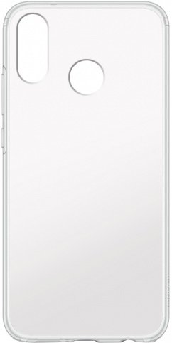 Чехол для смартфона Huawei Honor P20 Lite, Jelly, силиконовый полупрозрачный (матовый), TFN фото