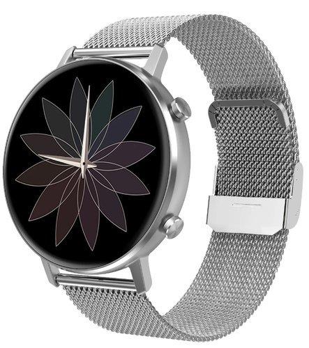 Умные часы DT No.1 DT96, стальной ремешок, серебристый фото