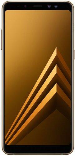Смартфон Samsung (A530F) Galaxy A8 (2018) Duos 32Gb LTE Золотистый фото