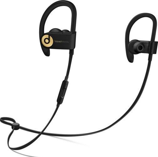 Наушники Beats Powerbeats 3, черно-золотой фото