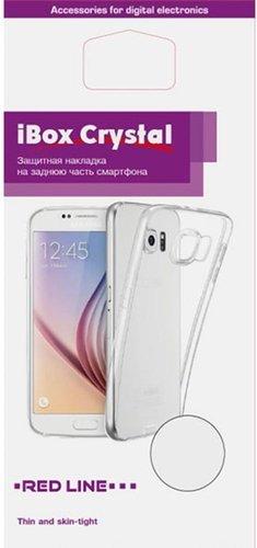 Чехол для смартфона Samsung Galaxy A02s Silicone iBox Crystal (прозрачный), Redline фото