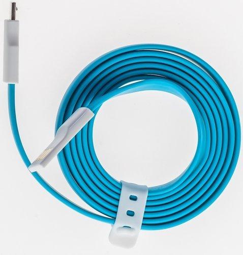 Кабель Prolike магнитный USB Micro 5 pin AM-BM 1,2 м, голубой фото