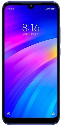 Смартфон Xiaomi RedMi 7 3/64Gb Blue (Синий) Global Version фото