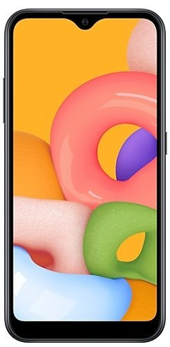 Смартфон Samsung (A015F) Galaxy A01 Черный фото