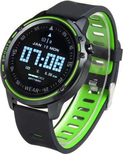 Умные часы Bakeey L8, IP68, зеленый фото