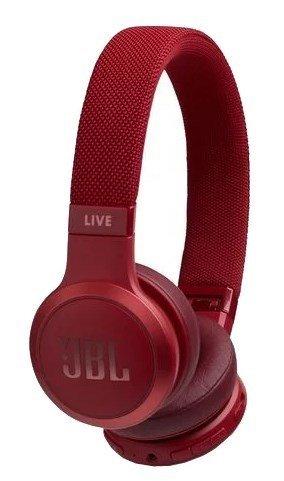 Наушники JBL Live 400BT, красный фото