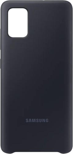 Чехол-накладка для Samsung Galaxy A51 Silicone Cover EF-PA515TBEGRU черный, Samsung фото