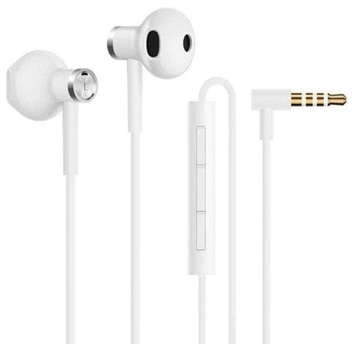 Наушники Xiaomi Mi Dual-Unit Earphones, белый фото