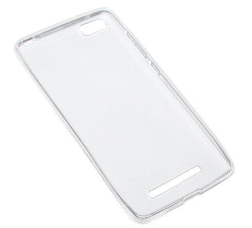 Чехол для смартфона Xiaomi Mi4c Silicone (прозрачный), Dismac фото