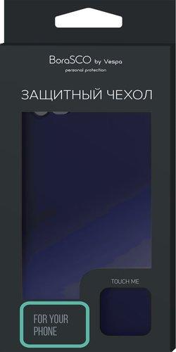 Чехол-накладка Hard Case для Xiaomi Redmi Note 8 синий, Borasco фото