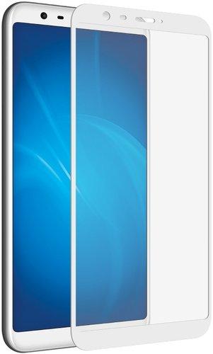Защитное стекло для Meizu M8/M8 Lite Full Screen Full Glue белый, TFN фото