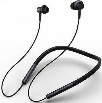 Наушники Xiaomi Mi Collar Bluetooth Headset, черный фото