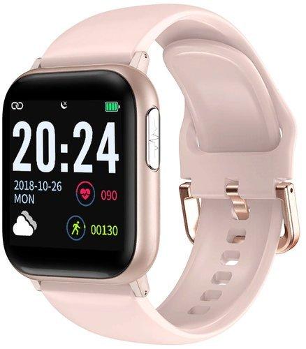 Умные часы Bakeey V6F, розовый фото