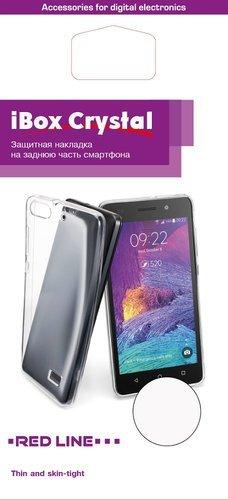 Чехол для смартфона LG M320 (X Power 2) Silicone iBox Crystal (прозрачный), Redline фото