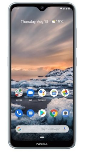 Смартфон Nokia 7.2 64GB Серебристый фото