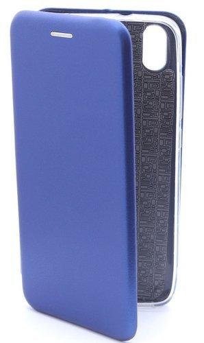 Чехол-книжка для Xiaomi Redmi 7A (темно-синий), Aksberry фото