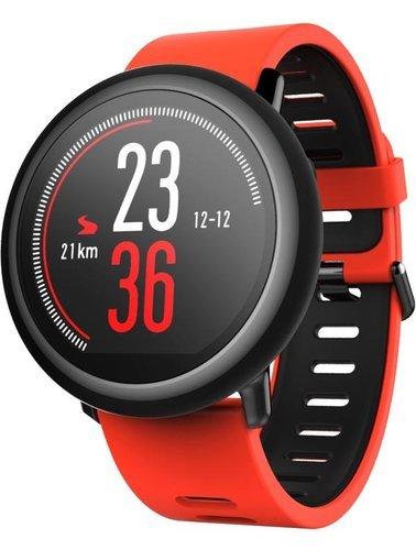 Умные часы Xiaomi Amazfit Pace, красные фото