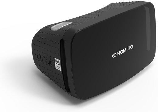 Очки виртуальной реальности Homido Grab черные фото