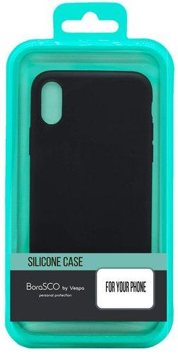 Чехол для смартфона Nokia 3.2 силиконовый (черный), BoraSCO фото