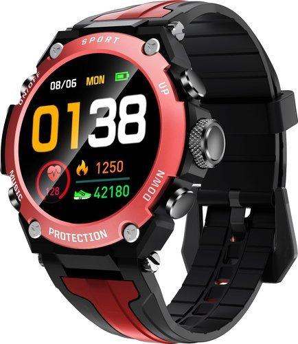Умные часы Bakeey DK10, красный фото