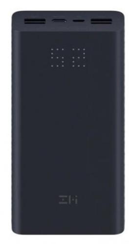 Внешний аккумулятор Xiaomi Mi Power Bank ZMI Aura 20000 mAh Micro USB/Type-C QB822 черный фото