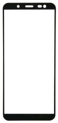 Защитное стекло для Samsung Galaxy J4 Plus (2018) Full Screen Full Glue черный, Redline фото