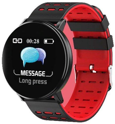 Умные часы Xanes Y19, красный фото