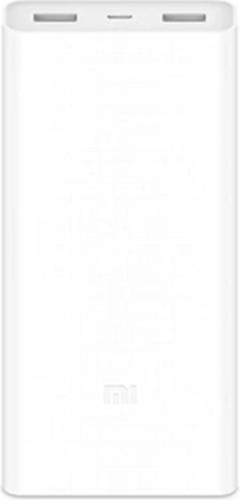 Внешний аккумулятор Xiaomi Mi Power Bank 3 20000 mah (PLM18ZM) VXN4258CN белый фото