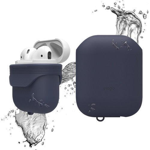 Чехол Elago Waterproof case для AirPods (EAPWF-BA), синий фото