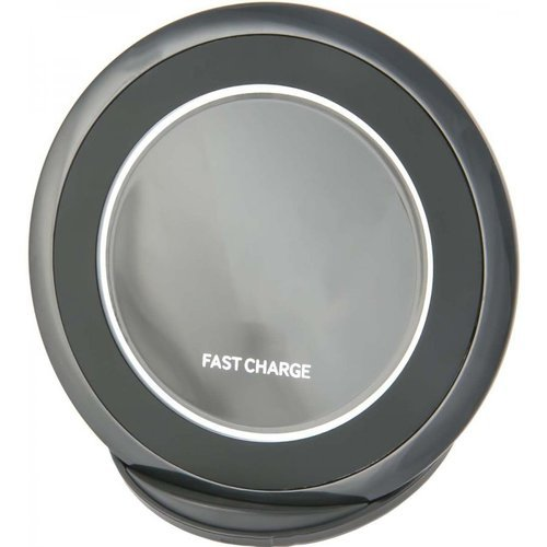 Беспроводная зарядка Red Line Qi-03 1.67A Fast Charge (подставка), черный фото