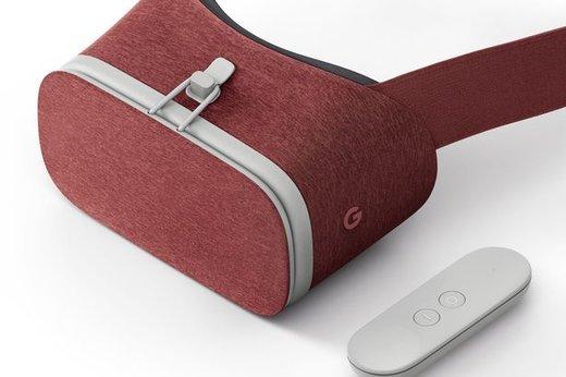 Очки виртуальной реальности Google Daydream View, красные фото