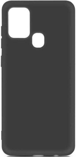 Чехол-накладка для Samsung (M315) Galaxy M31 черный, Microfiber Case, Borasco фото
