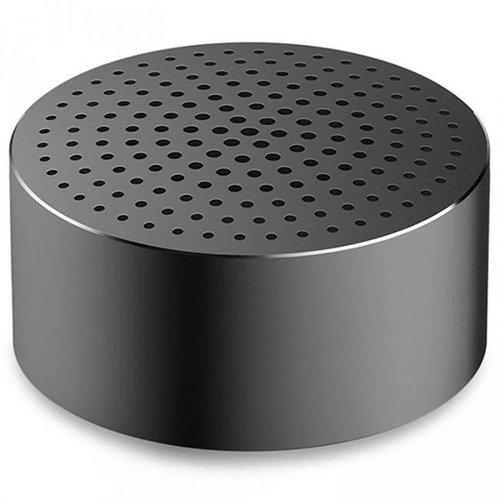 Портативная колонка Xiaomi Mi Portable Round Box, черная фото