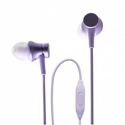 Наушники Xiaomi Mi In-Ear Headphones Basic, фиолетовый фото