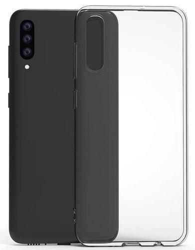 Чехол для смартфона Samsung Galaxy A50 Silicone iBox Crystal (прозрачный), Redline фото