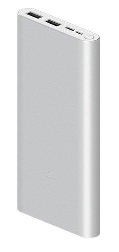 Внешний аккумулятор Xiaomi Mi Power Bank 3 10000 mah 18W Type-C PLM13ZM серебристый фото