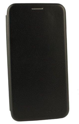 Чехол-книжка для Xiaomi Mi10 Lite черный Book Type, Redline фото