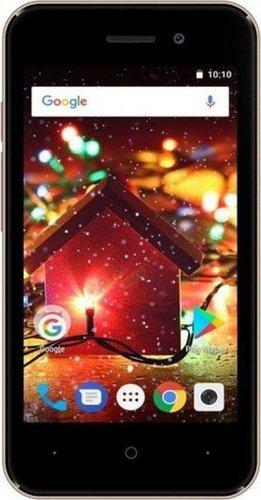 Смартфон Digma Q401 3G HIT 8Gb 1Gb Золотистый фото