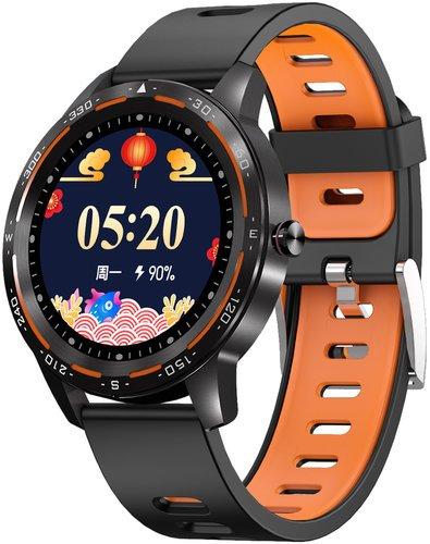 Умные часы Bakeey H86, оранжевый фото