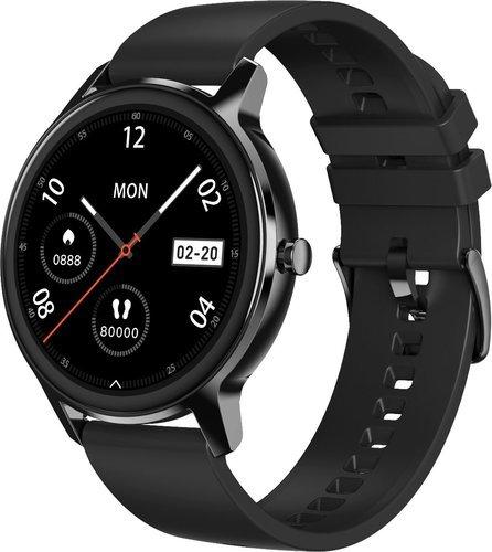 Умные часы DT No.1 DT56, силиконовый ремешок, черный фото