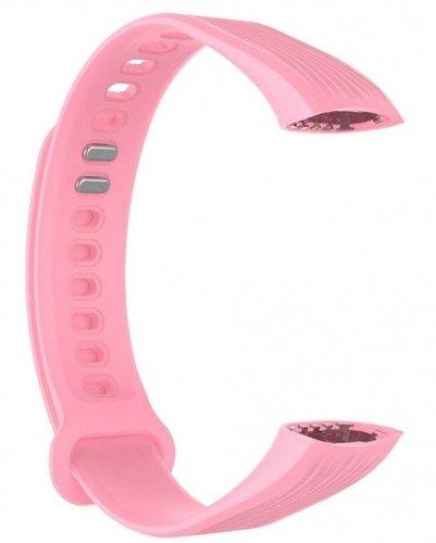 Ремешок силиконовый для Honor Band 3 розовый фото