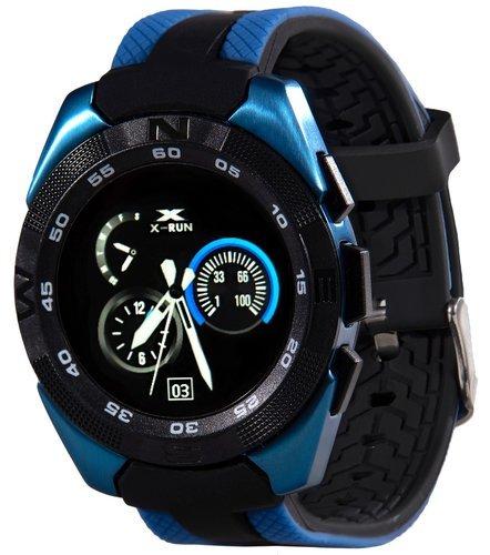 Умные часы Prolike Jet PLSW7000BL с цветным дисплеем, синие фото