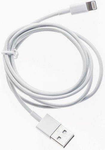 Кабель Prolike USB - 8 pin 1,2 м, белый ( Lightning ) фото