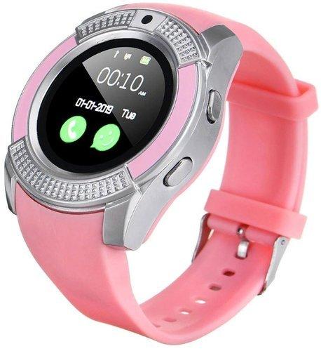 Умные часы Kaload V8, розовый фото