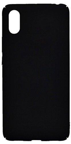 Чехол для смартфона Xiaomi Mi8 Pro силиконовый (матовый черный), BoraSCO фото